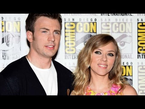 Scarlett Johansson Talks Black Widow/Captain America Relationship