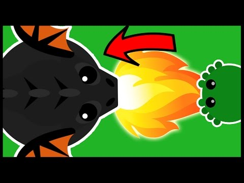 Mope.io - COLOSSAL BLACK DRAGON UPDATE! - NEW Lava Biome, New Animals, Food, Healing Stones & More!