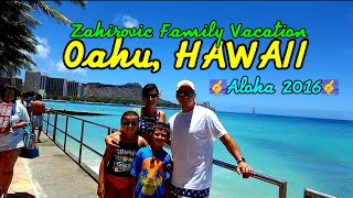 Oahu Island, Hawaii ~ Family Vacation 2016