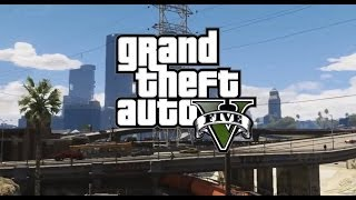 GTA 5 Races! #4 Flying Car and Funny Moments! GTA V Online Multiplayer Gameplay)