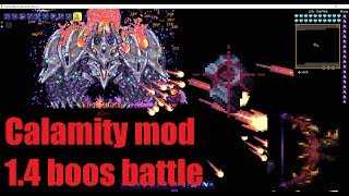 Terraria Calamity Mod 1.4 Boss Rush