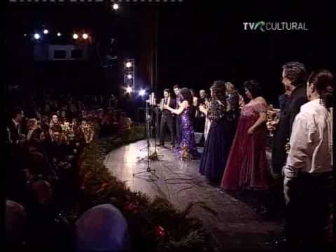 Angela Gheorghiu & all - La Traviata: Brindisi - Bucharest 2010