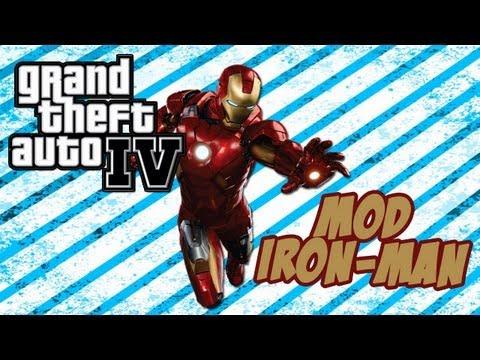 Grand Theft Auto IV - Mod Iron Man 4 + Bonus Clip