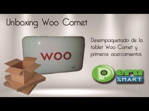 [Peru Smart] [Unboxing] Primeras impresiones sobre la Tablet Woo Comet