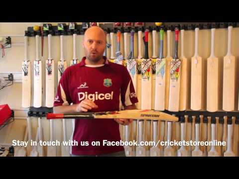 Spartan Chris Gayle Authority Player Edition Cricket Bat cricstoreonline video