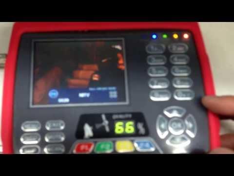 Satlink  Satellite Tv Combo Meter Finder ws6950 hands-on