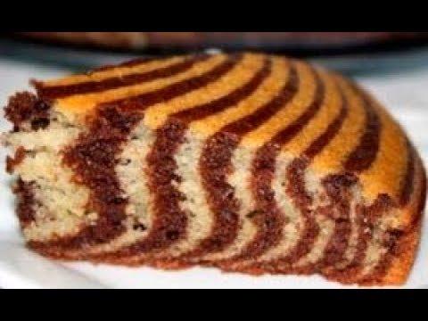 Пирог Зебра на сметане / кефире рецепт. Зебра пирог. Пирог зебра простой рецепт. Полосатый пирог.