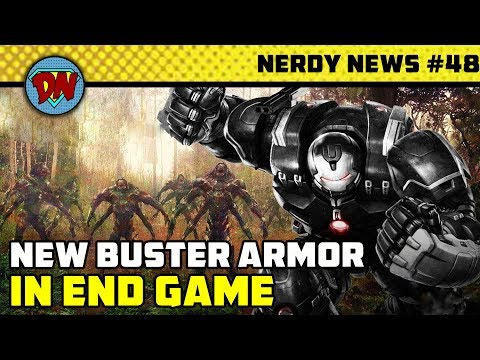 Harry Potter as Wolverine, End Game Leaks, No More Batman, Black Widow, Eternals | Nerdy News #48