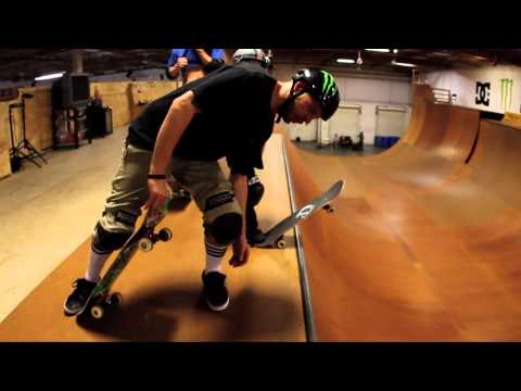 8 Year Old Sk8s Monster Ramp with PLG