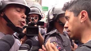 Policia não dá Moleza! Pulso firme!