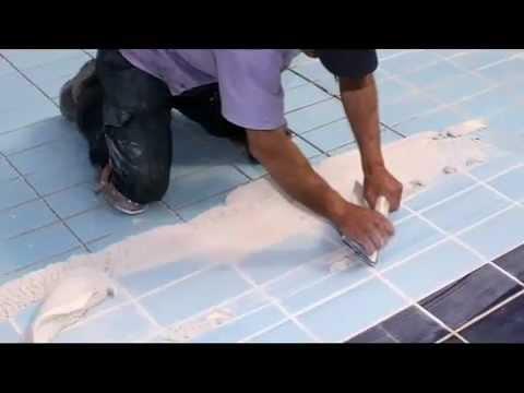 2 sistema para la impermeabilizaci n de piscinas con - Como poner baldosas en el suelo ...
