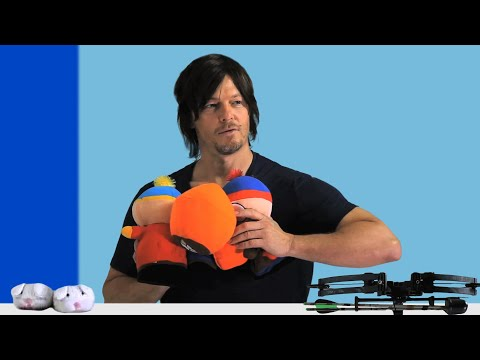 NORMAN REEDUS: The Walking Dead Star Needs These to Survive a Zombie Apocalypse - GQ 10 Essentials