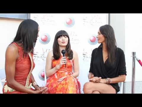 Interview with actress Celeste Thorson at the La Jolla Fashion Film Festival