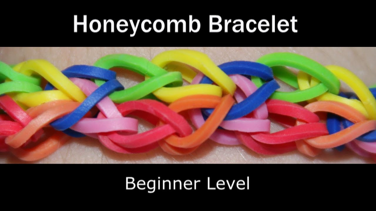 Rainbow loom bracelets zipper
