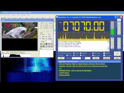 SSTV from Japan - JA5CU