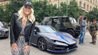 Military Pulls Over Rare Supercar!