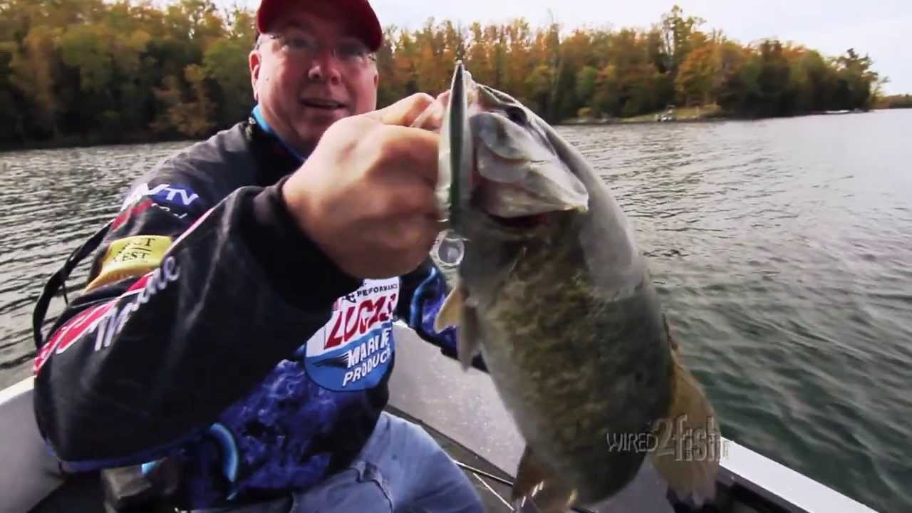 Fishing for bass with jerkbaits in cold water youtube for Cold water bass fishing
