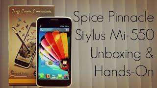 download lagu Spice Pinnacle Stylus Mi-550 Unboxing & Hands-on / Stylus gratis