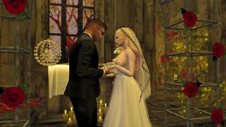 The Wedding of Aga & Dazzling Second Life