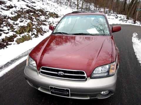 2002 Subaru Outback Limited AWD 4dr Sedan, auto, leather, loaded, CD changer, 133K $7,450