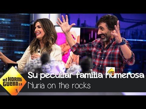 La peculiar familia numerosa de Nuria Roca y Juan Del Val - El Hormiguero 3.0