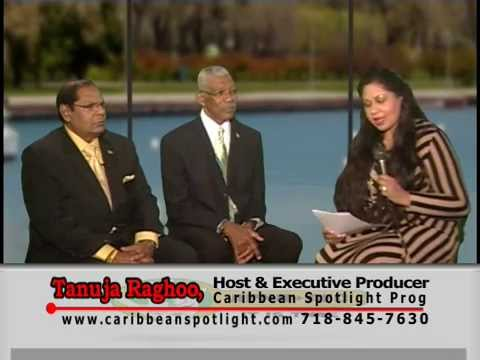 CARIBBEAN SPOTLIGHT TV (NYC) INTERVIEWS DAVID GRANGER AND MOSES NAGAMOOTOO