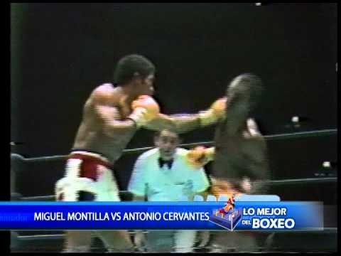 LO MEJOR DEL BOXEO CON FRANKLIN NUÑEZ 01 DE NOV MIGUEL MONTILLA VS ANTONIO CERVANTES, 3/4