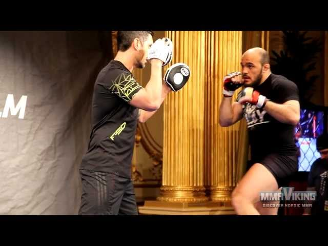 Ilir Latifi Open Workout UFC on Fuel 9/UFC Sweden 2