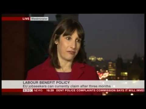 Labour's Rachel Reeves Deceives on EU Migration Benefits