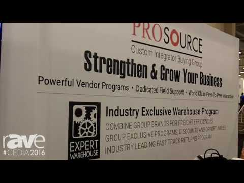 CEDIA 2016: ProSouce Wants to Help Strengthen and Grow Your Business