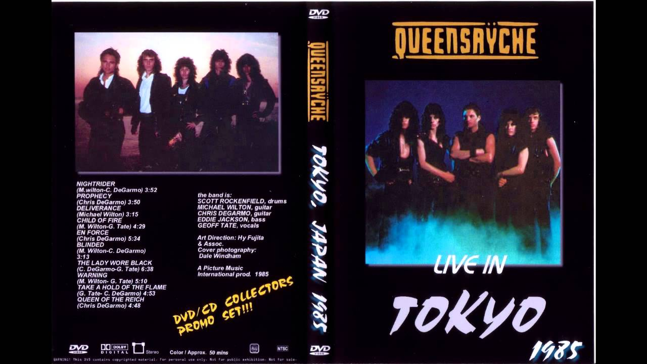 Queensryche Empire 20th Anniversary Edition Queensryche 1985 Live in tokyo