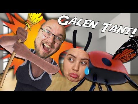 Ufo Är En Galen Tant!! - Slap The Fly På Svenska | Med Ufosxm