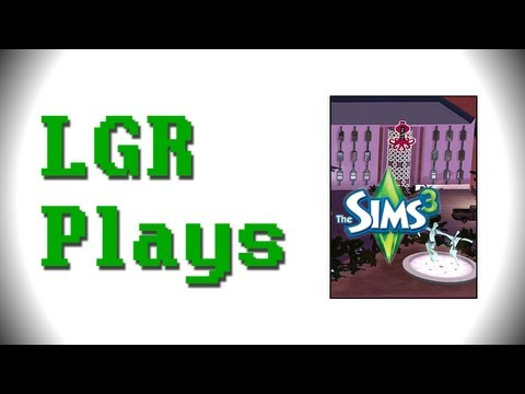 LGR Plays - The Sims 3 [Lucky Simoleon Casino]