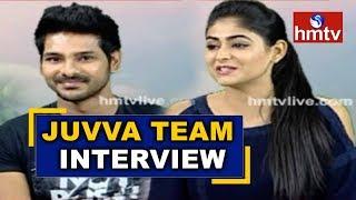 Juvva Movie Hero Ranjith and Heroine Palak Lalwani Interview | Juvva  | hmtv News