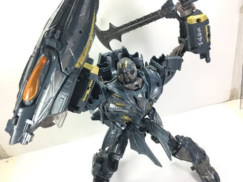 Transformers The Last Knight Leader Megatron Chefatron Toy Review
