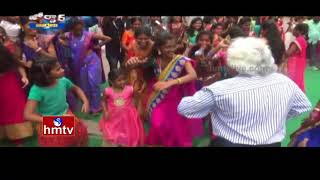 Gaddar Dance For Bathukamma Song | Jordar News