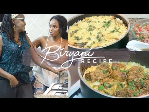 How to Make Kenyan Chicken Biryani ft My Mom!