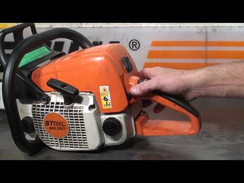 The chainsaw guy shop talk Stihl MS 390 Chainsaw 10 4