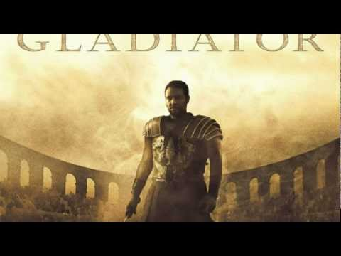 Gladiator is listed (or ranked) 23 on the list The Greatest Movie Themes