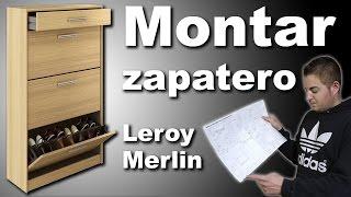 Montar mueble zapatero Practic Leroy Merlin