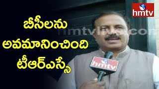 Congress Leader Madhu Goud Yaskhi Face to Face over Tickets to BC Candidates | hmtv