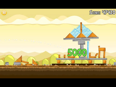 Official Angry Birds walkthrough for theme 5 levels 6-10