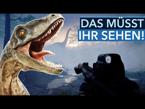 Neue Dino-Shooter, tolle Grafik & irre Spiele-Remakes - Trailer-Rotation