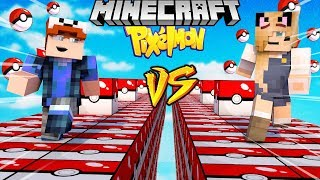 SZALONY WYŚCIG! - POKEMON LUCKY BLOCKI MINECRAFT (Pixelmon Lucky Block Race) | Vito vs Bella