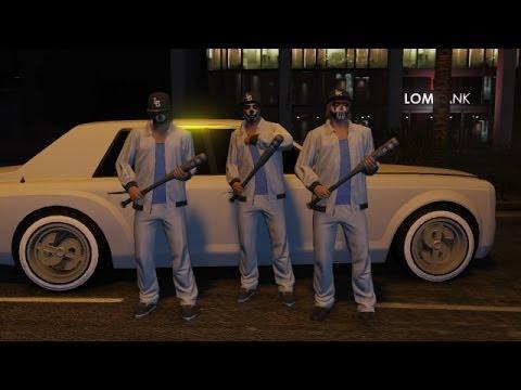 """GTA 5 Funny Moments"" – Pedo Clown Vans & Stickybombs – (GTA V Online Stunts Gameplay)"