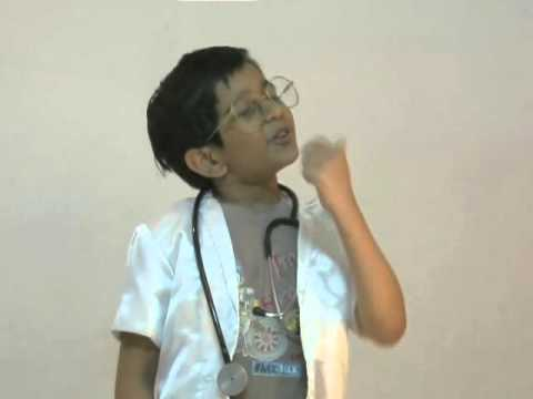 KID'S Junk food message.- JAY SUNDAR  8 yrs.