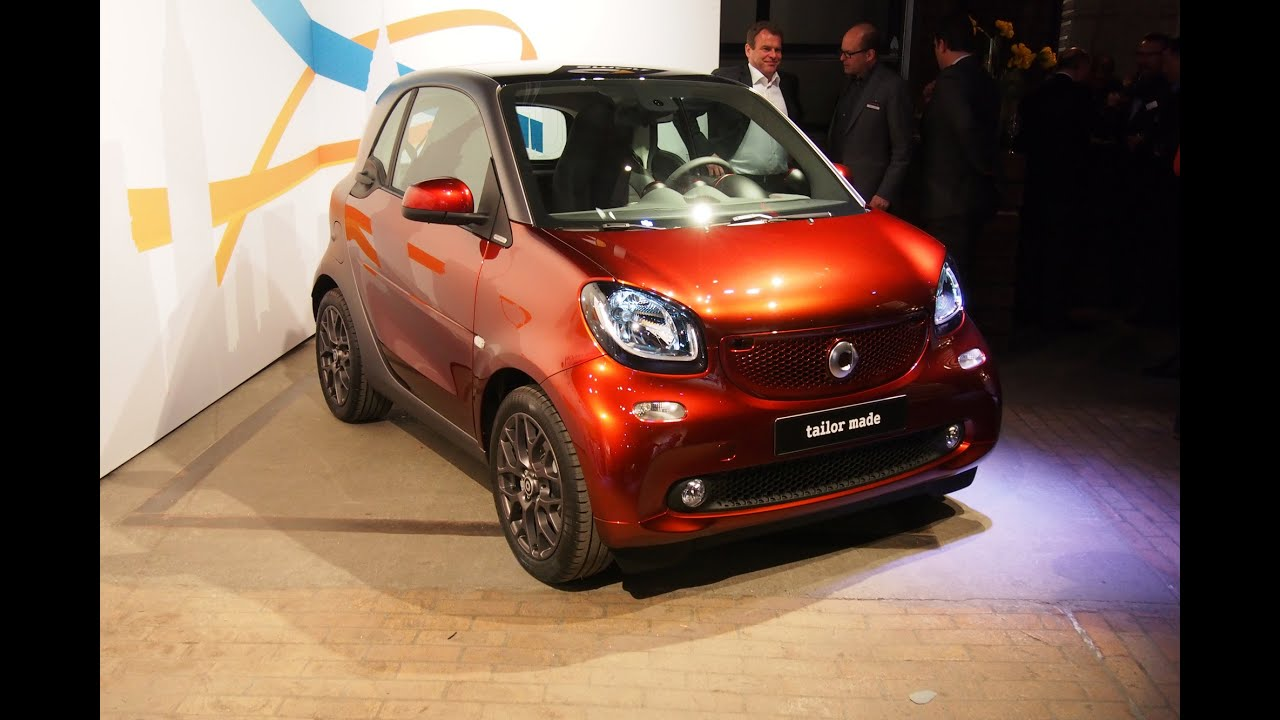 2016 Smart Fortwo - 2015 New York Auto Show