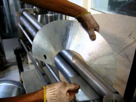 Как сделать трубу на конус станки