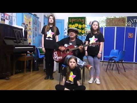 Jason Donovan - Any Dream Will Do - Acoustic Cover - Danny with The Glee Kids!