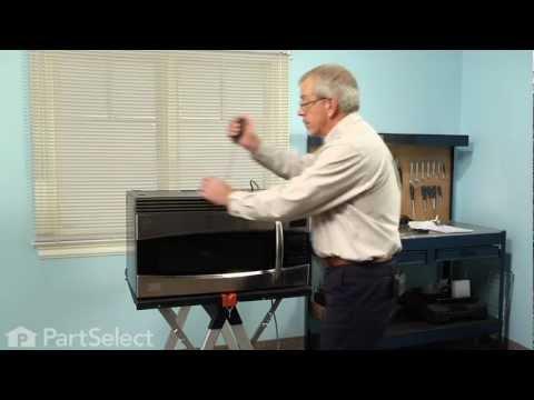 Microwave Repair - Replacing the Halogen Light Bulb (GE Part # WB25X10019)